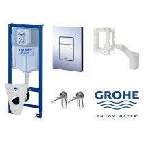 GROHE Potinkinio WC rėmo komplektas 5 in 1