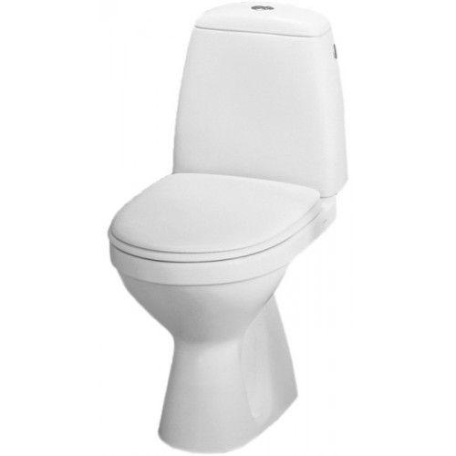 Geberit Smyle WC SOLO komplektas su kietu soft-close dangčiu