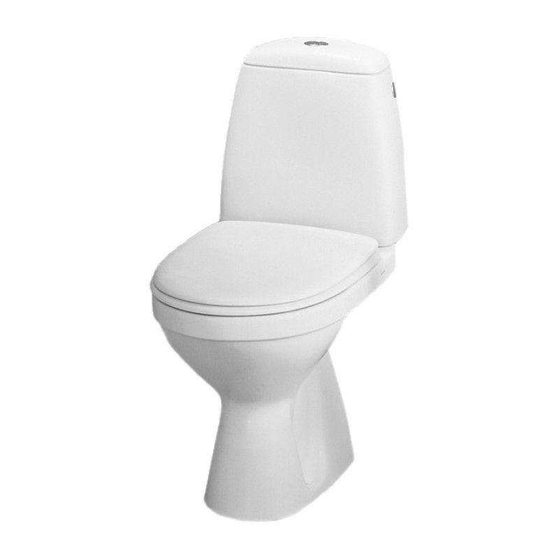 KOLO WC SOLO komplektas su kietu soft-close dangčiu