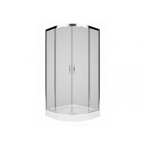 KOLO Pusapvalė dušo kabina REKORD, 90x90, skaidrus stiklas