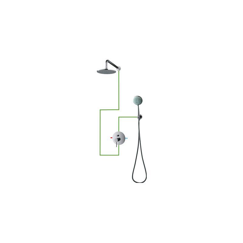 OMNIRES Y SYS Y21 potinkinė dušo sistema