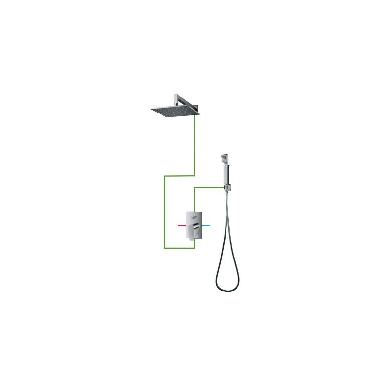 OMNIRES Murray SYS 20 potinkinė dušo sistema