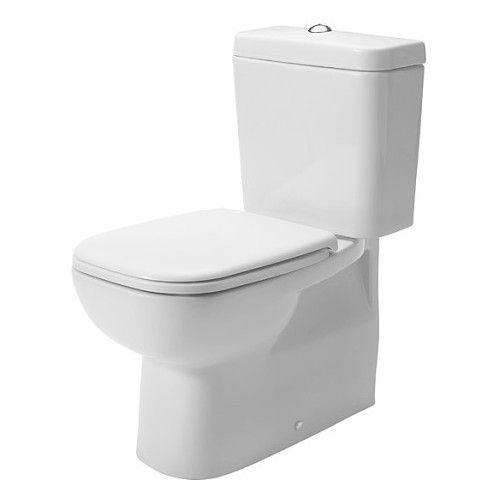 DURAVIT WC puodas pastatomas su universaliu nuotaku 65 cm, D-Code