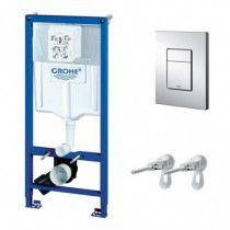 GROHE Komplektas - WC rėmas+sieniniai tvirtinimai+Cosmo (3in1)