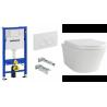 GEBERIT modulio 3in1 ir WC puodo Deante peonia komplektas