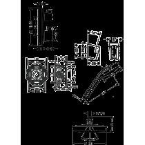 HANSGROHE Croma Select S180 potinkinis dušo komplektas