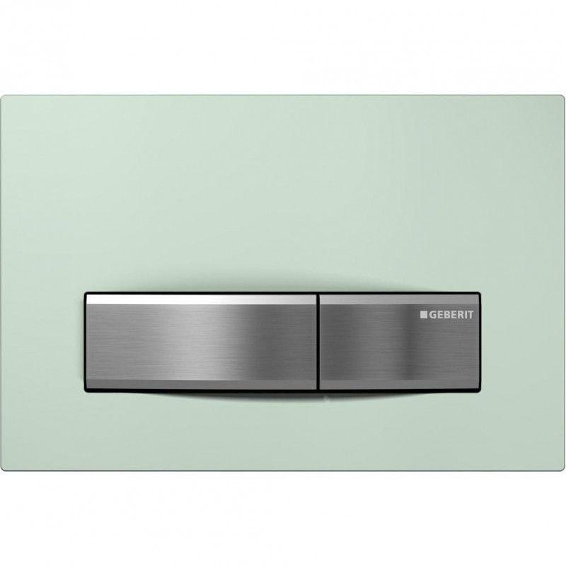 Sigma50 vandens nuleidimo mygtukas, tonuotas žalias stiklas