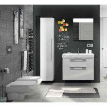 """KOLO Pakabinamas WC puodas """"Rimfree"""" + antibakterinis letai nusileidžiantis dangtis"""