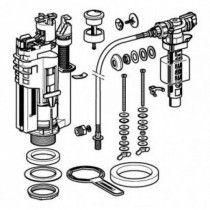 Typ 290-380 universalus vandens pribėgimo ir nuleidimo mechanizmas