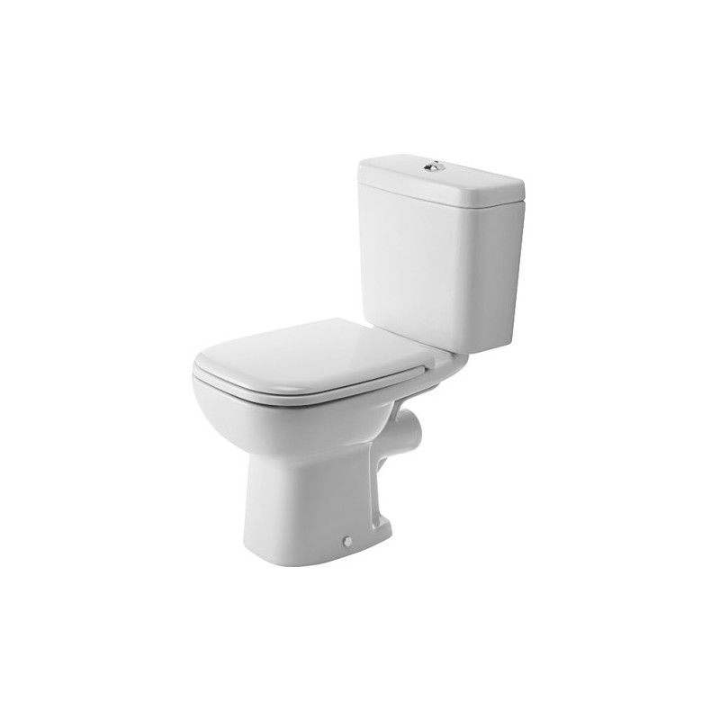 WC puodas pastatomas 65 cm, D-Code